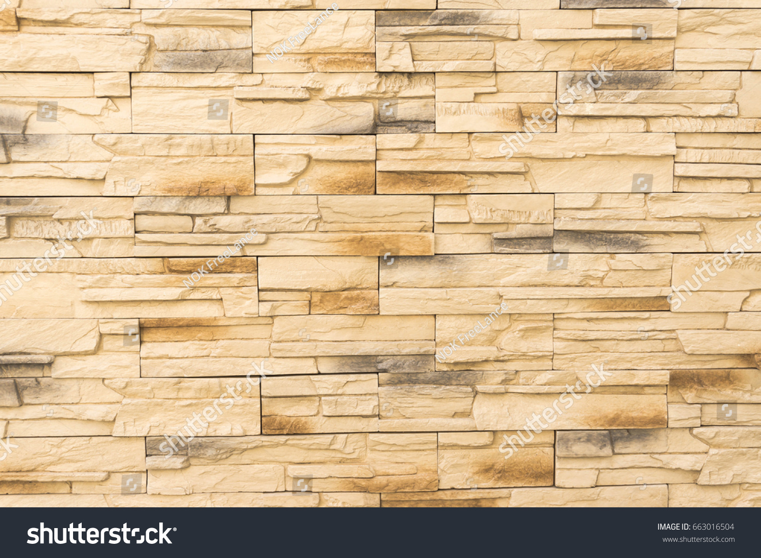Old Brown Bricks Wall Pattern Brick Stock Photo (Edit Now) 663016504 ...
