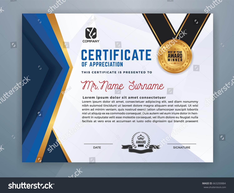 Professional Certificates Templates