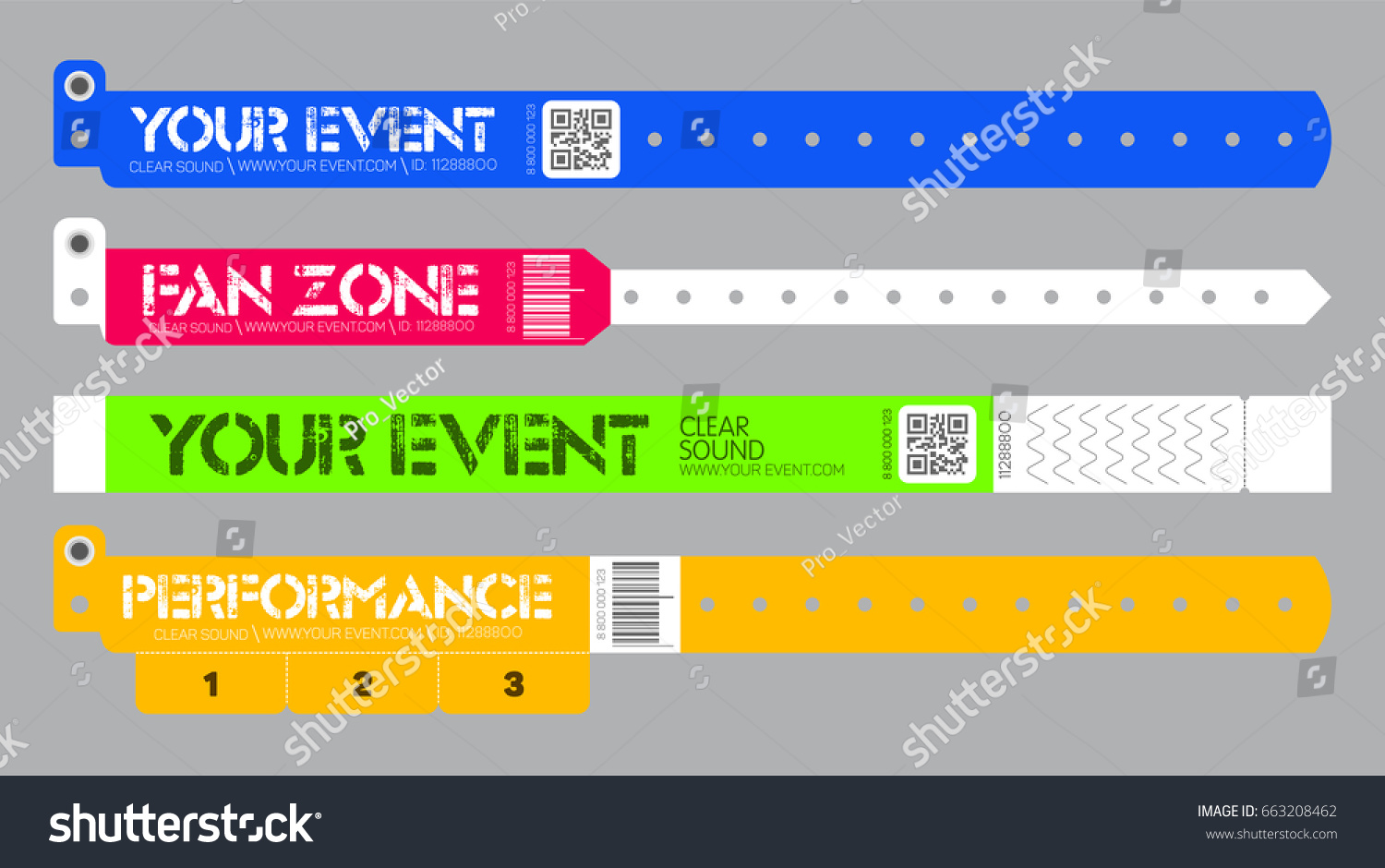paper wristband template