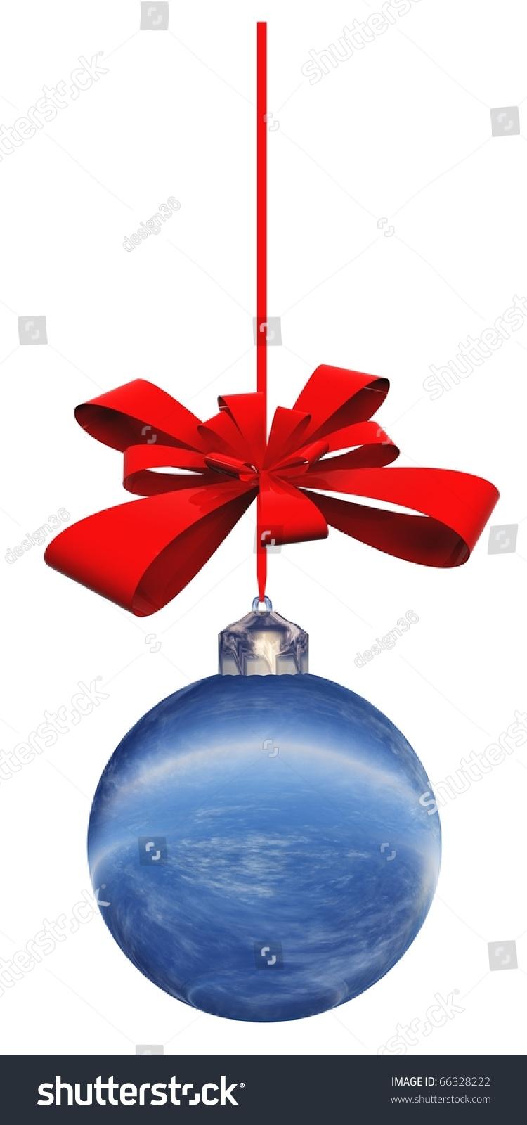 High resolution christmas ornament stock photo