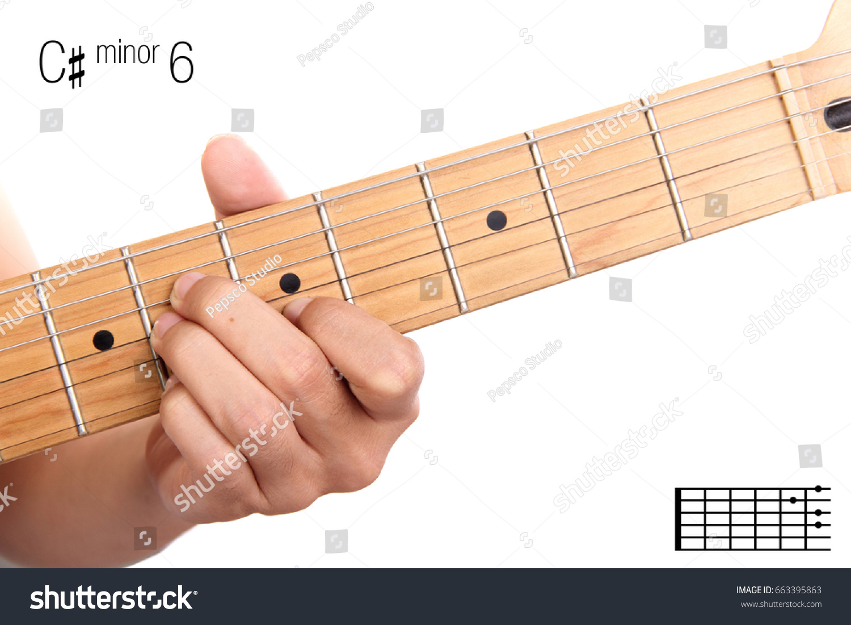 Cm 6 Advanced Guitar Keys Series Closeup Stock Photo Edit Now