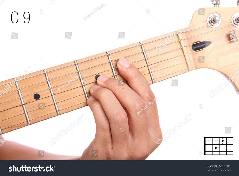 C 9 Advanced Guitar Keys Series Closeup Stock Photo Edit Now