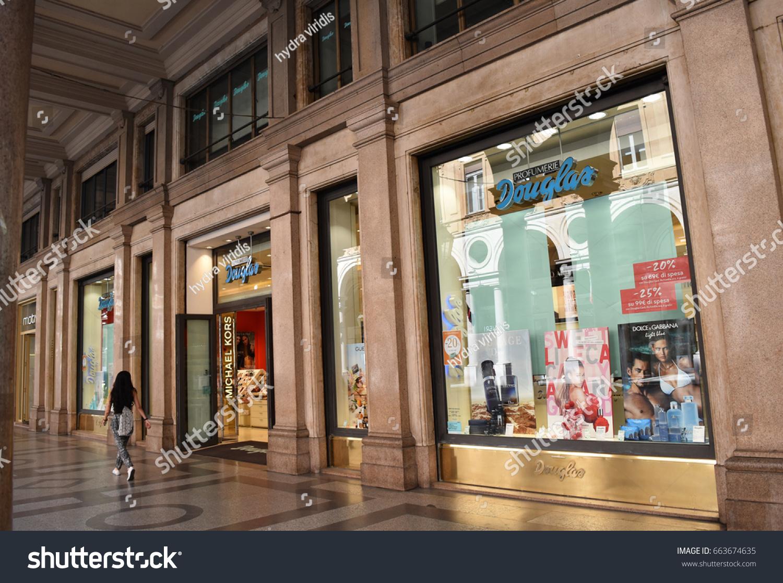 9d07b3f04b1d TURIN ITALY CIRCA JUNE 2017 Window Stock Photo (Edit Now) 663674635 ...