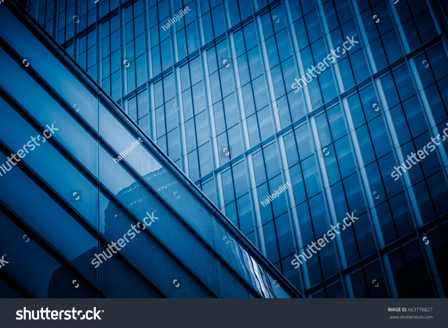 detail glass building background #663776827