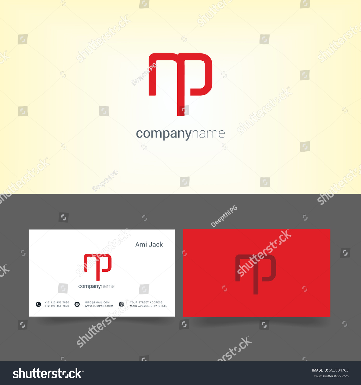 Sample of business letter argument how to set up a business business letter logo example of a critical analysis essay stock vector n p joint logo letter design with business card template 663804763 business letter magicingreecefo Gallery