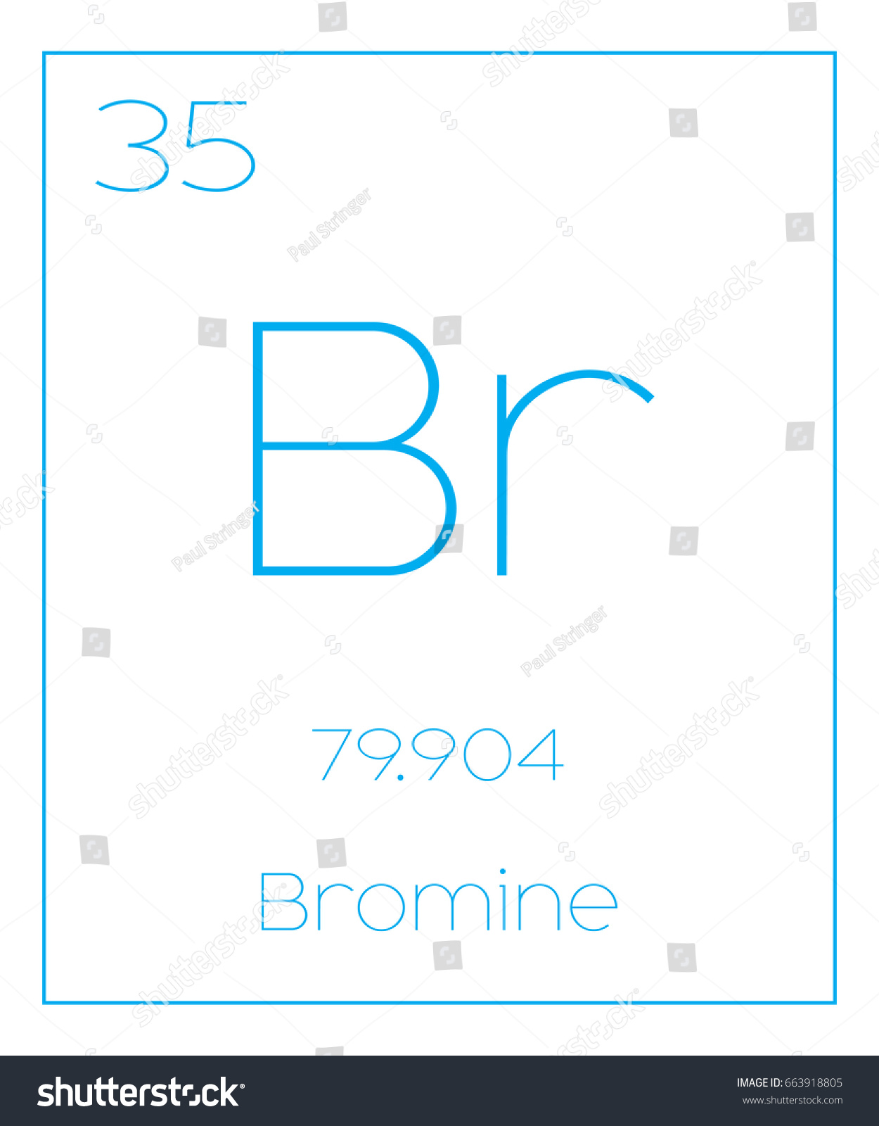 Illustration periodic element bromine stock vector 663918805 an illustration of the periodic element bromine biocorpaavc