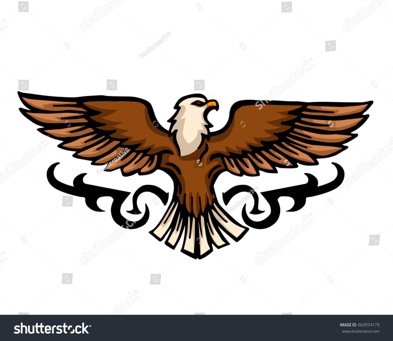 Vintage American Eagle Symbol Crazywidowfo