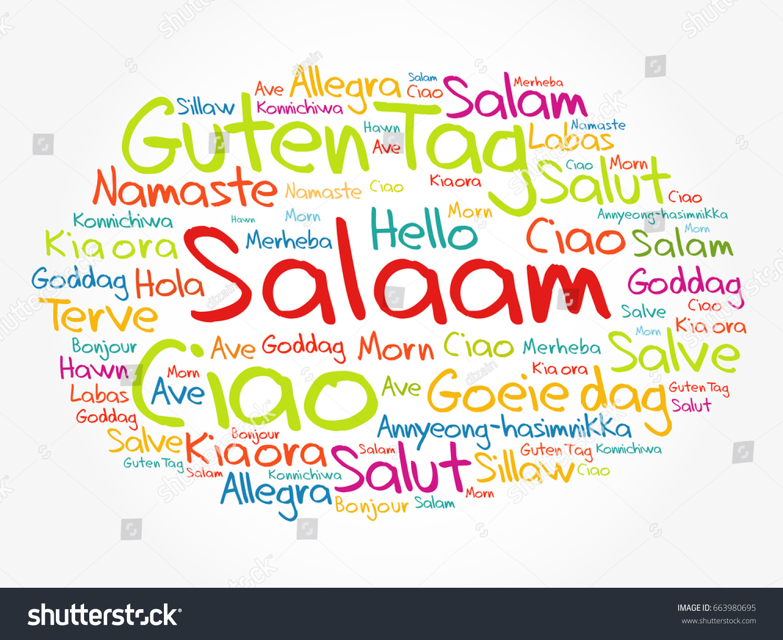 Greeting in persian images greetings card design simple salaam hello greeting persian farsi word cloud stock vector hd m4hsunfo