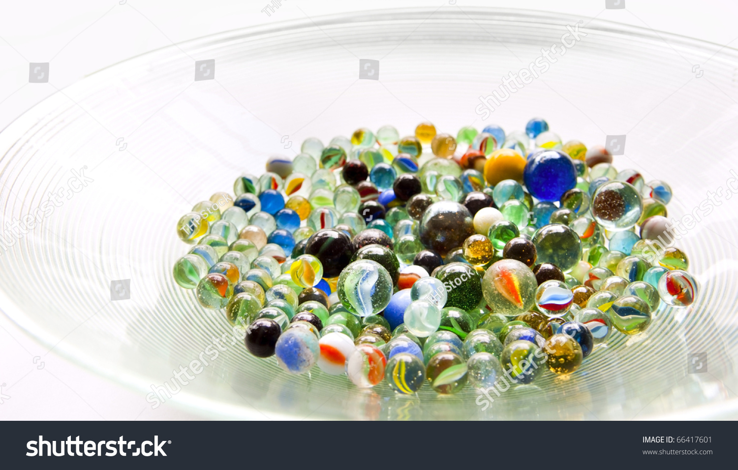 Bright Colored Marbles : Royalty free brightly colored marbles in different