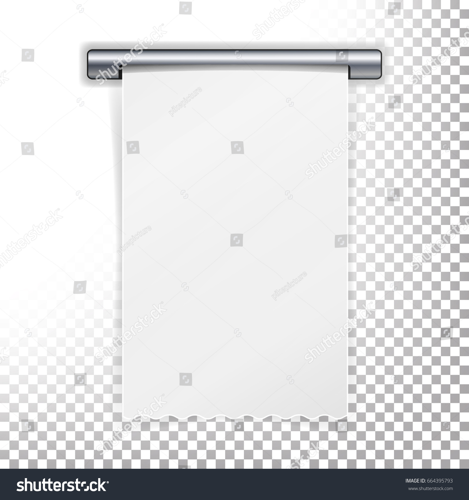 Royalty Free Stock Illustration Of Sales Printed Receipt Bill Atm