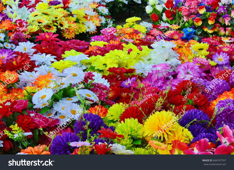 Flower Fair Holidays Decoration Artificial Flower Stock Photo ...