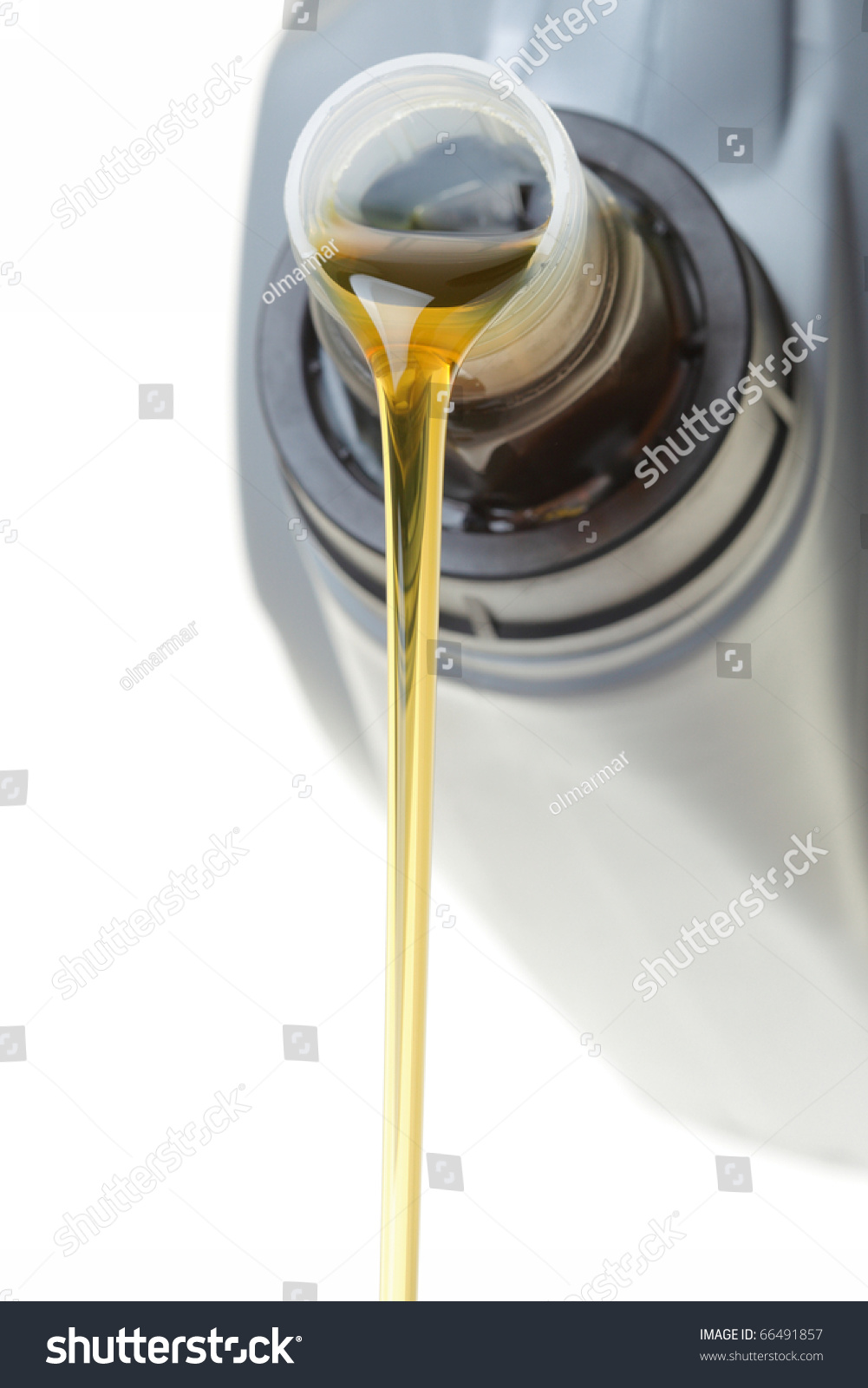 Can Car Engine Oil Isolated On Stock Photo (Edit Now