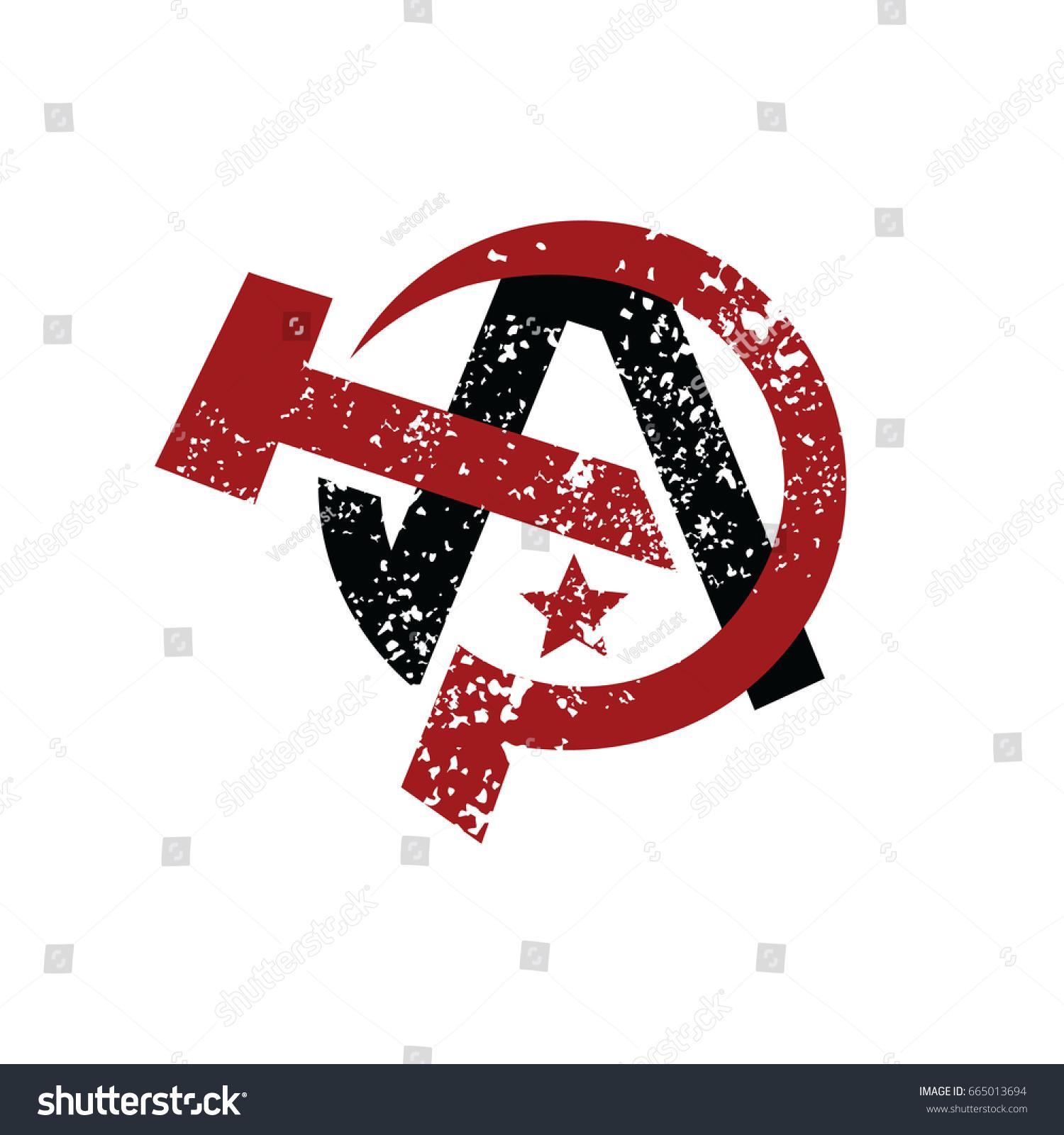 Anarchy atheism communist logo logotype vector stock vector anarchy atheism communist logo logotype vector art biocorpaavc Choice Image