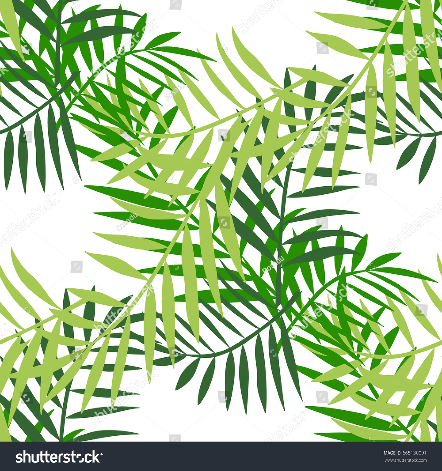 Palm tree leaves seamless pattern tropical stock vector 665130091 palm tree leaves seamless pattern tropical greeting card invitation template trendy summer tropical pronofoot35fo Image collections