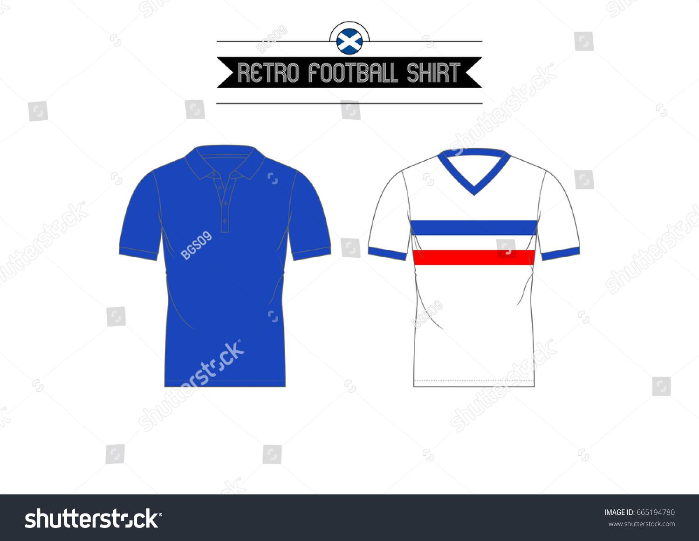 051dcd144 Retro Glasgow Rangers Football Shirts