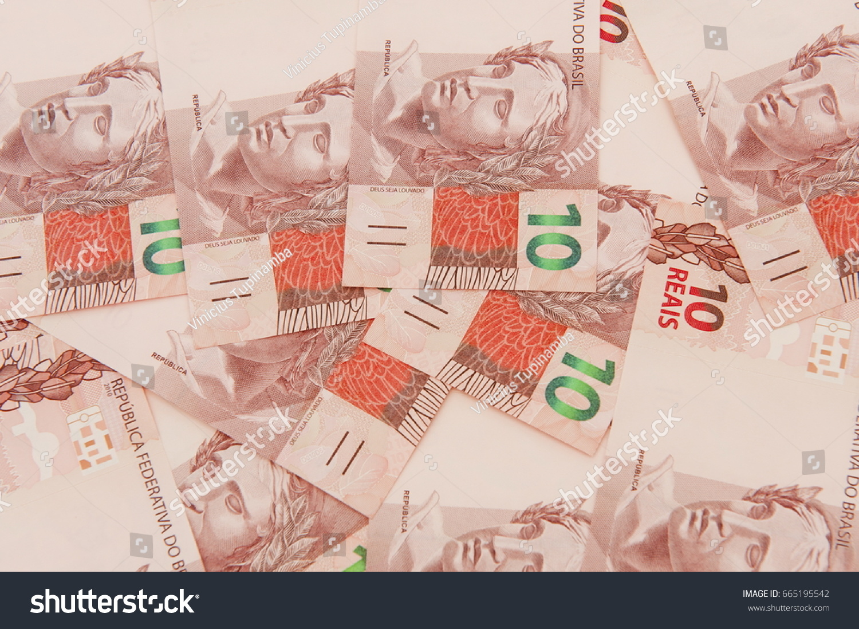 Brazilian currency 10 brl stock photo 665195542 shutterstock brazilian currency 10 brl buycottarizona Images
