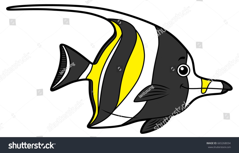 Uncategorized Cartoon Angel Fish cartoon angelfish stock vector 665268034 shutterstock angelfish