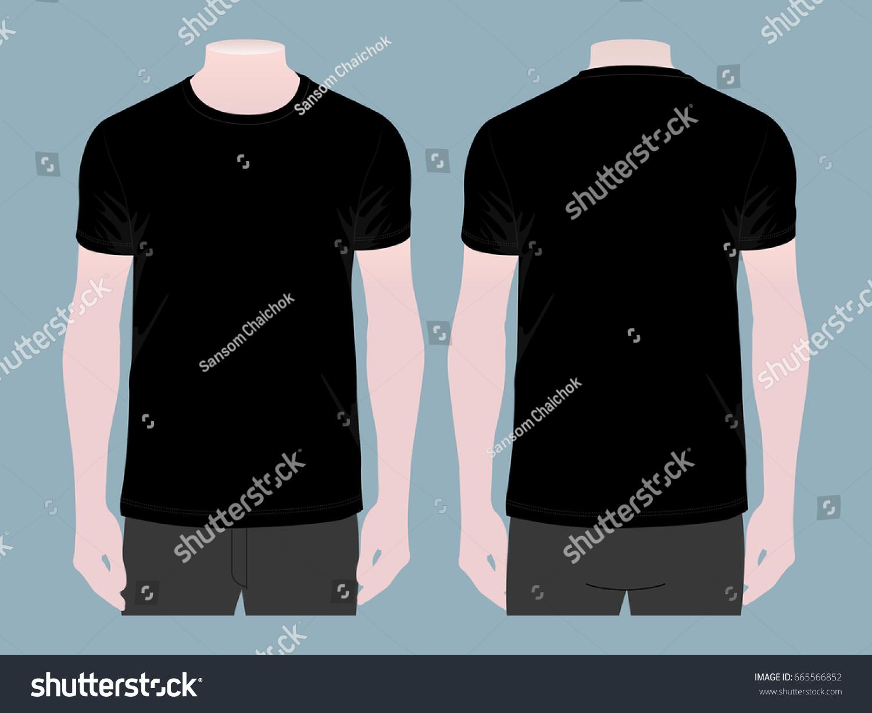 Black t shirt template - Black T Shirt Template