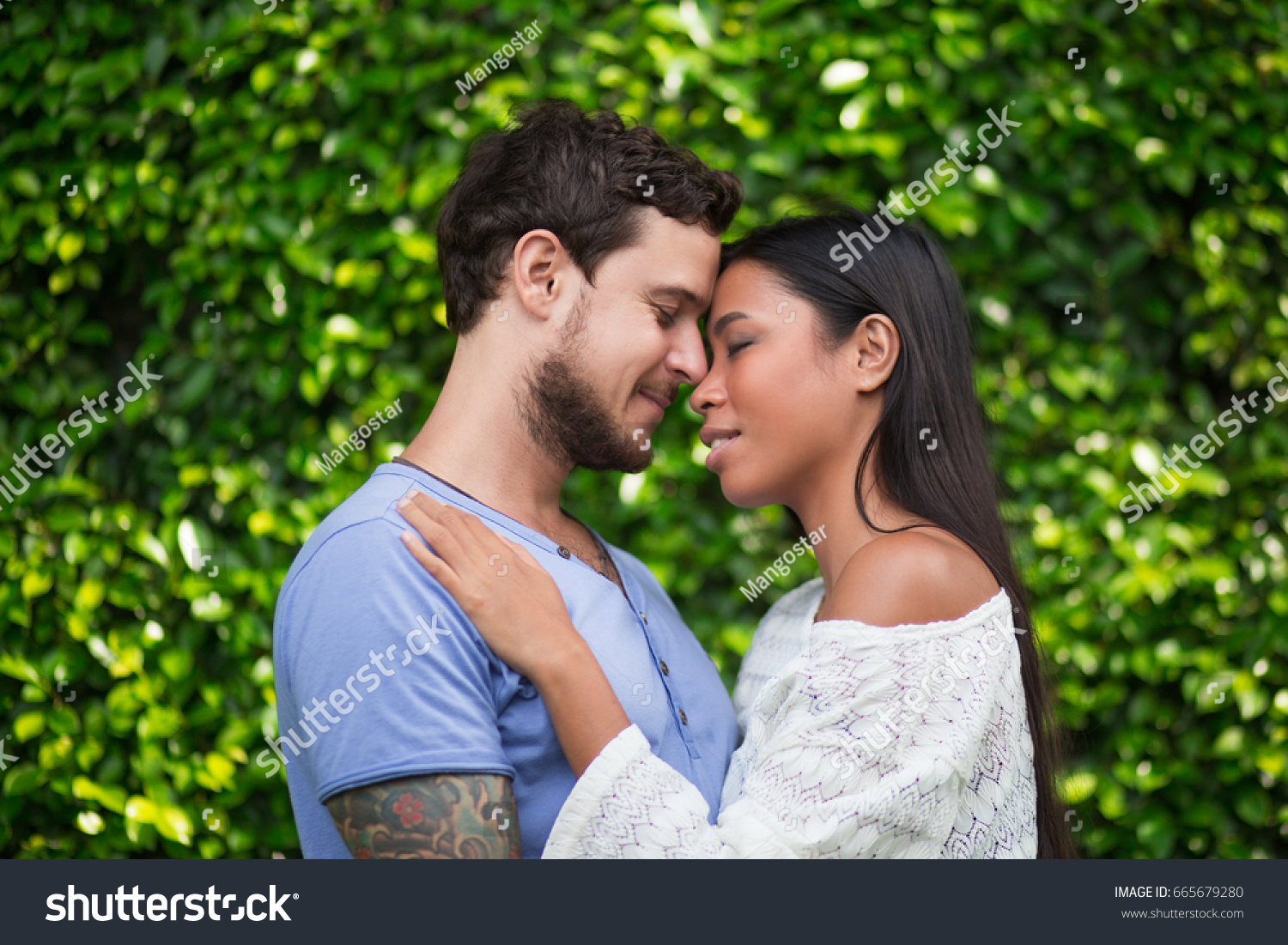 Interracial couple photos