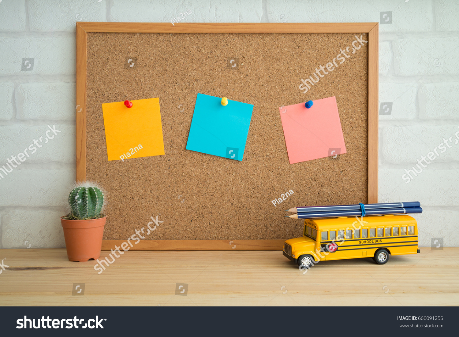 Black School Education Concept On Wooden Backgrounds Textures Stock Image 666091255
