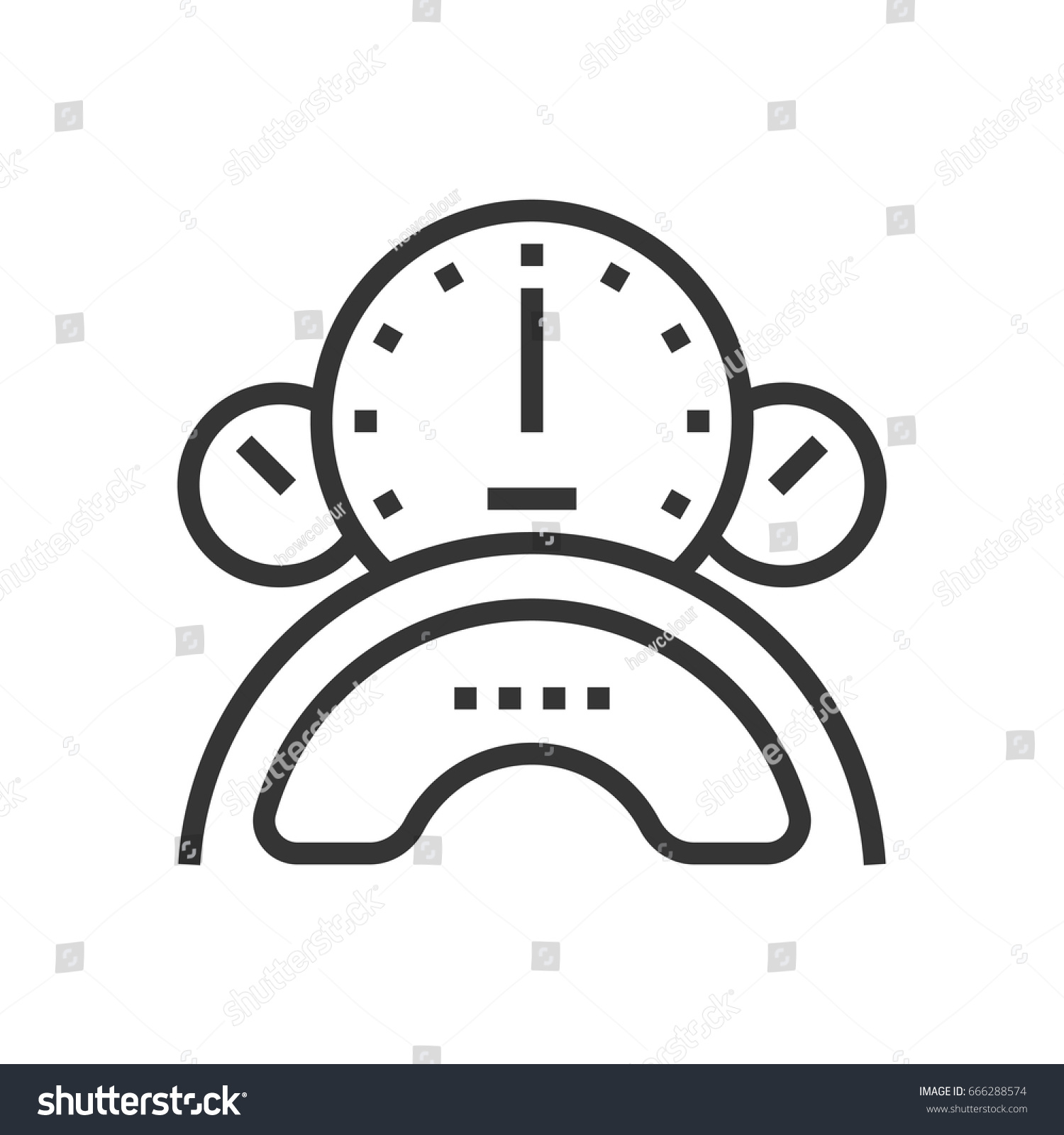 Speedometer icon part square icons car stock vector 666288574 speedometer icon part of the square icons car service icon set the illustration biocorpaavc Image collections