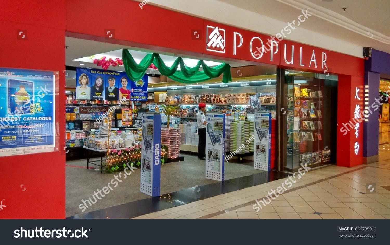 Puchong Kuala Lumpur June2017 Popular Book Stock Photo (Edit