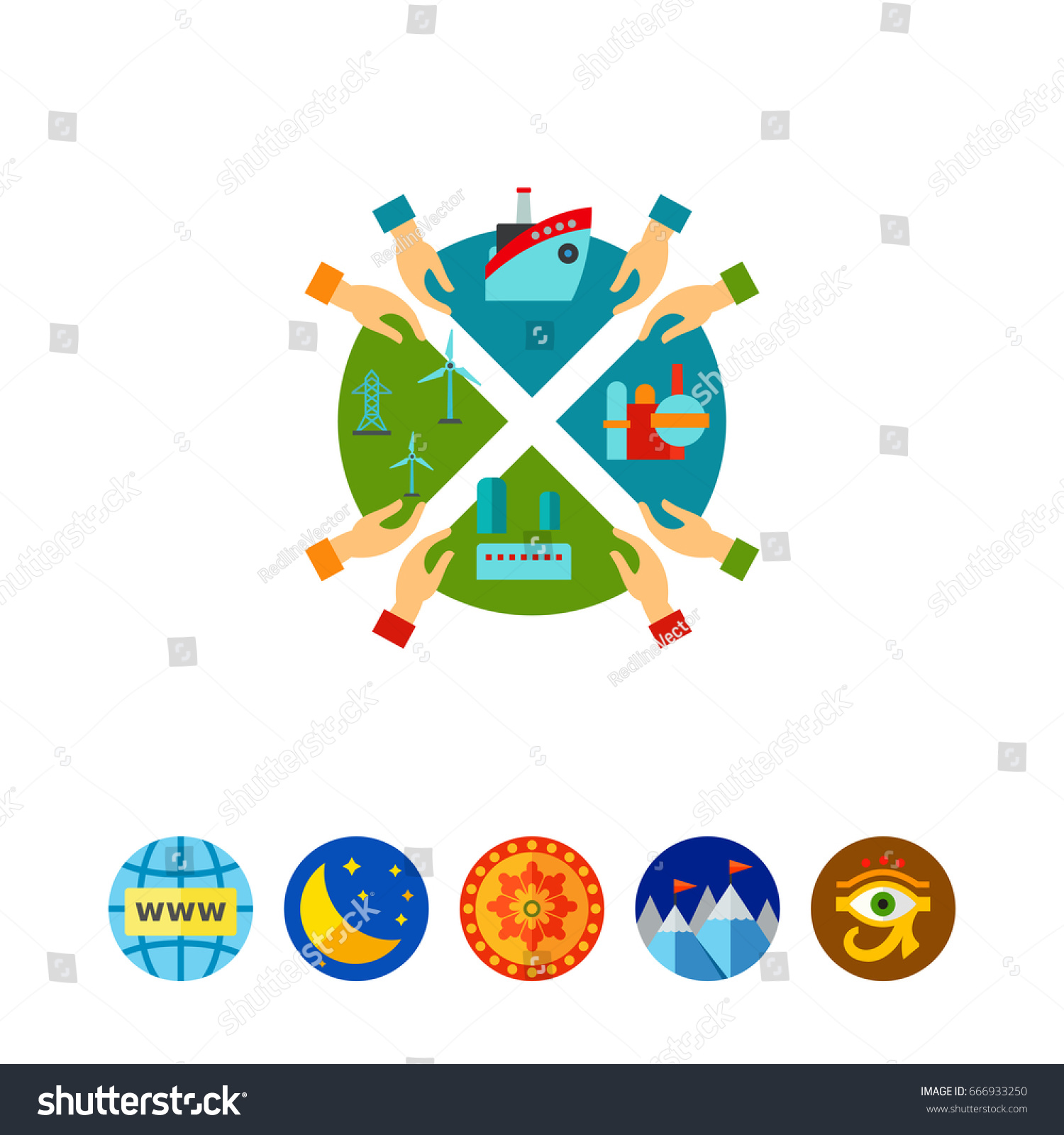 Oil industry investment pie chart icon stock vector 666933250 oil industry investment pie chart icon nvjuhfo Image collections