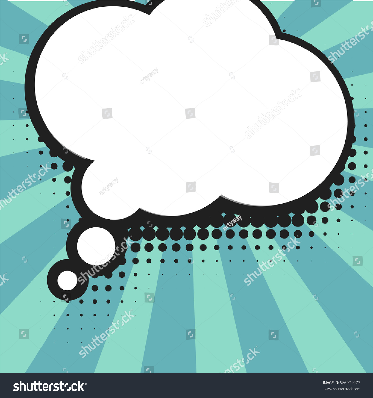 Blank ic Balloon Template Clear ics Stock Vector Royalty Free