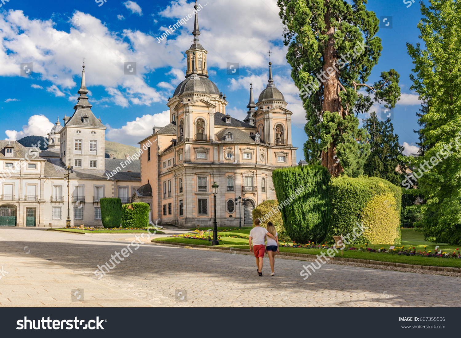Palacio De La Granja De San Stock Photo Edit Now 667355506
