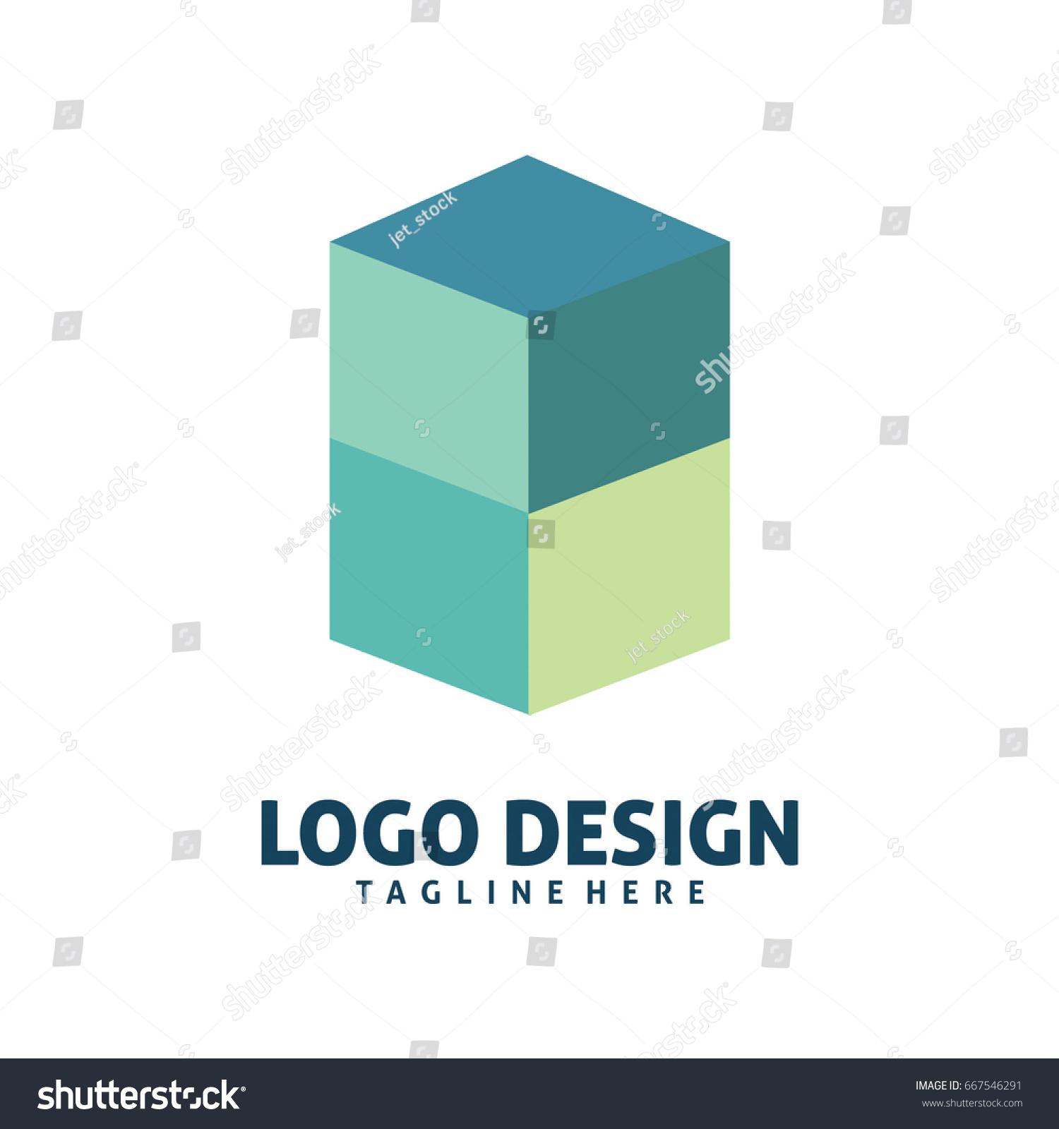 Box logo stock vector 667546291 shutterstock box logo buycottarizona Gallery