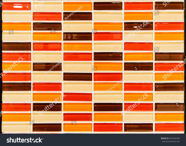 Red orange yellow brown ceramic tile stock photo 667559740 red orange yellow brown ceramic tile stock photo 667559740 shutterstock dailygadgetfo Choice Image