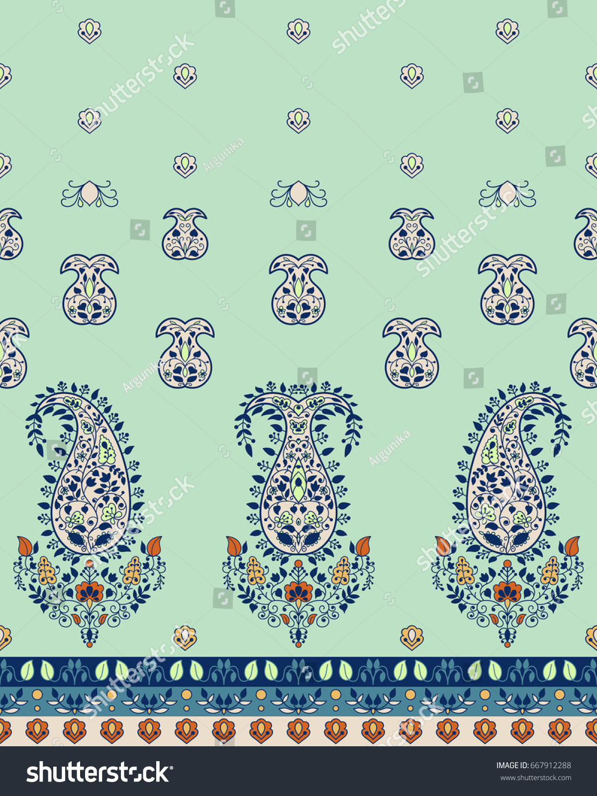 Traditional ornamental paisley bandanna can be stock vector traditional ornamental paisley bandanna can be used for textile greeting card accessories kristyandbryce Gallery
