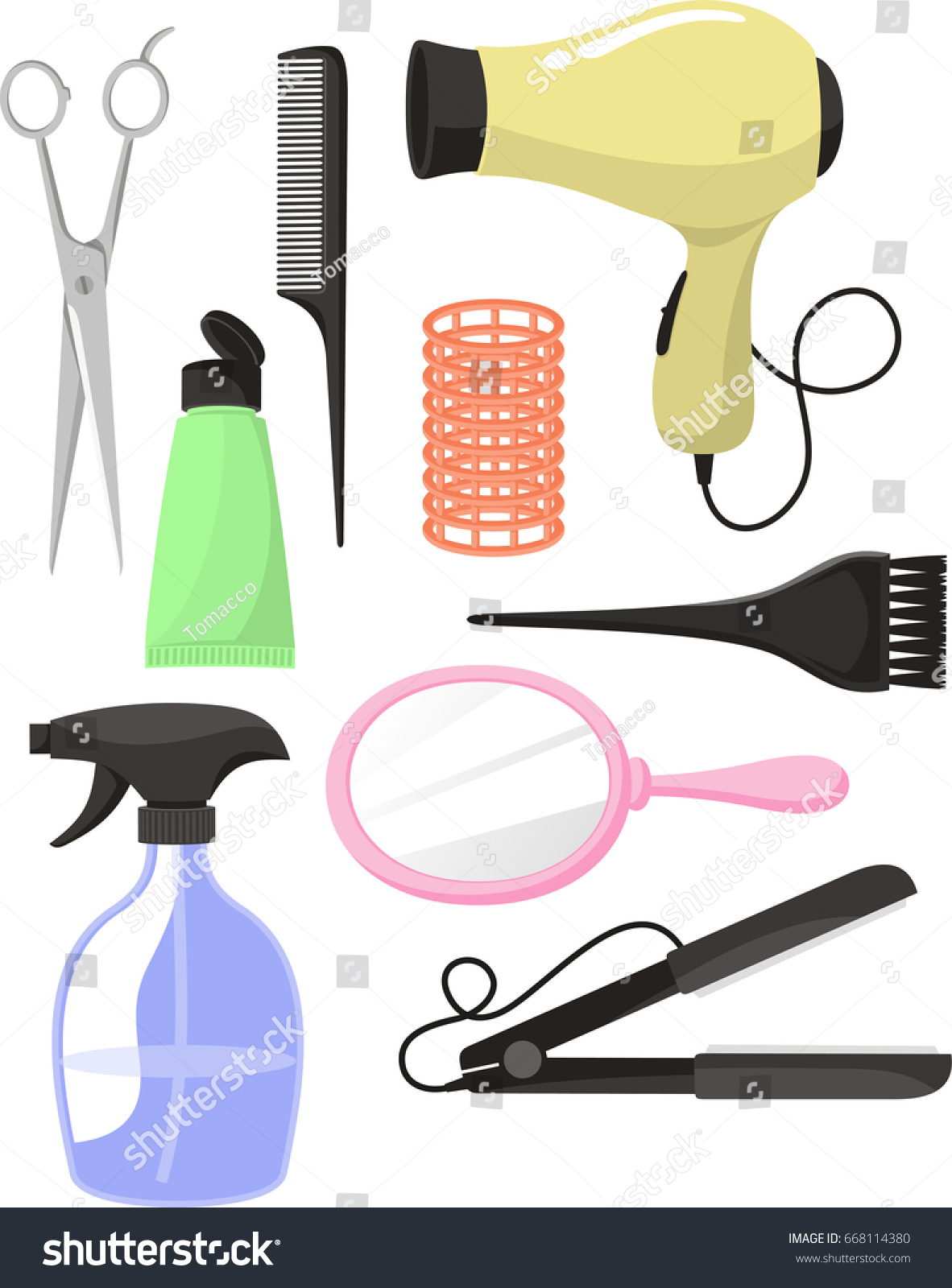 hair salon equipment clip art stock illustration 668114380 rh shutterstock com clip art stockade clip art stock photos free