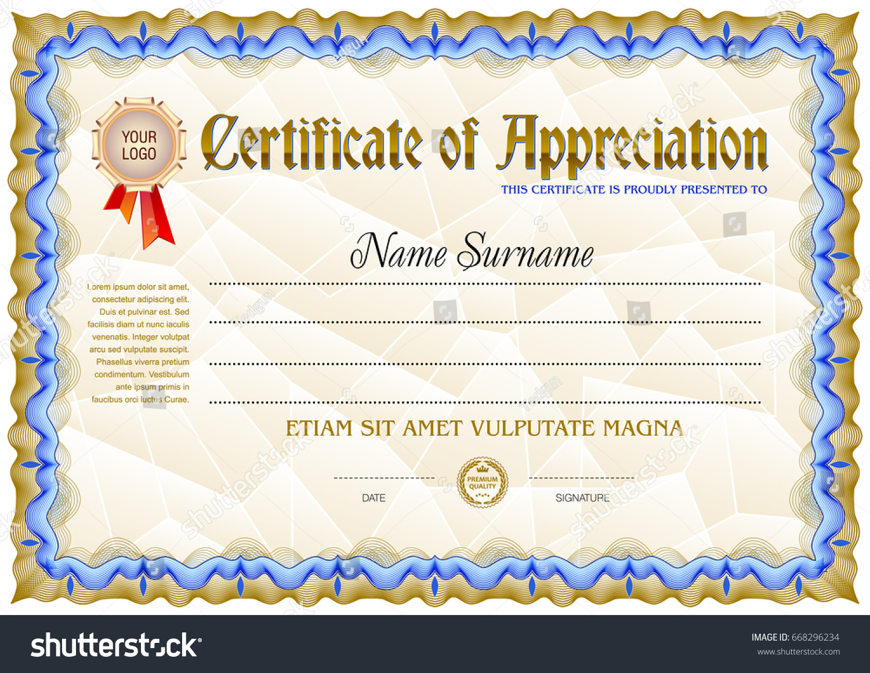 Award certificate blank pasoevolist award certificate blank award certificate blank template vintage frame stock vector award certificate blank blank award certificate templates yadclub Image collections