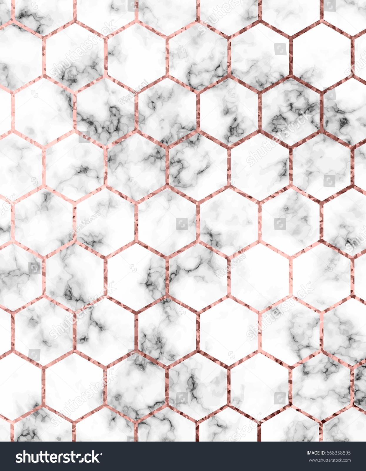 Rose Gold Pattern Cool Design