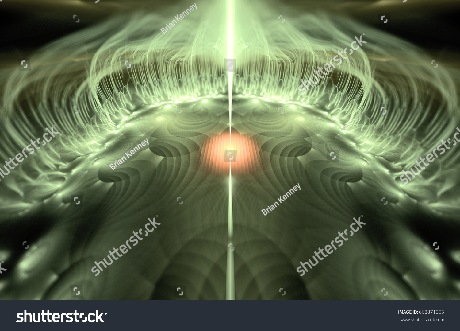 A Rare Magnetic Energy Emanating From Metallic Surface