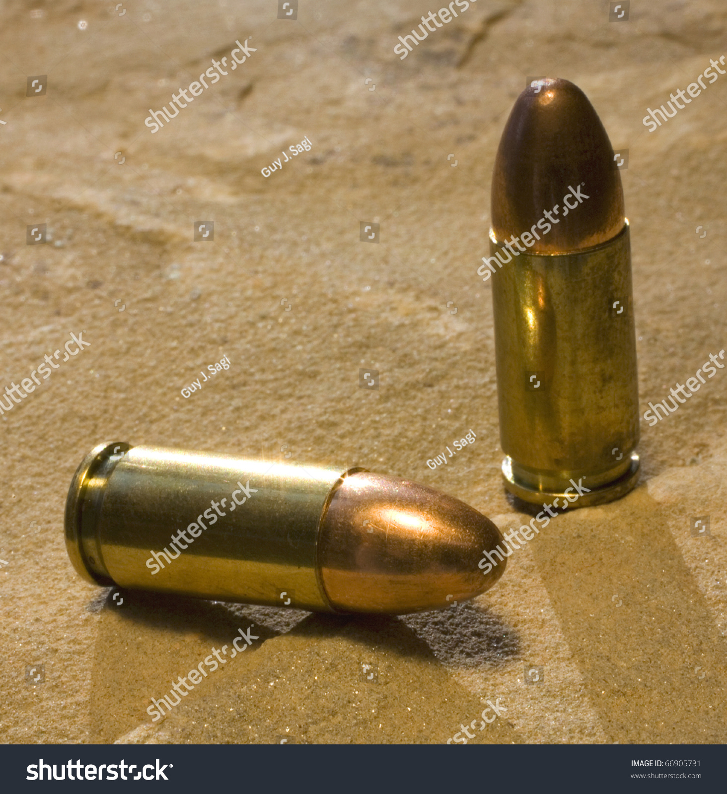 Full Metal Jacketed Bullets 20 Mm Stock Photo Edit Now 662005731