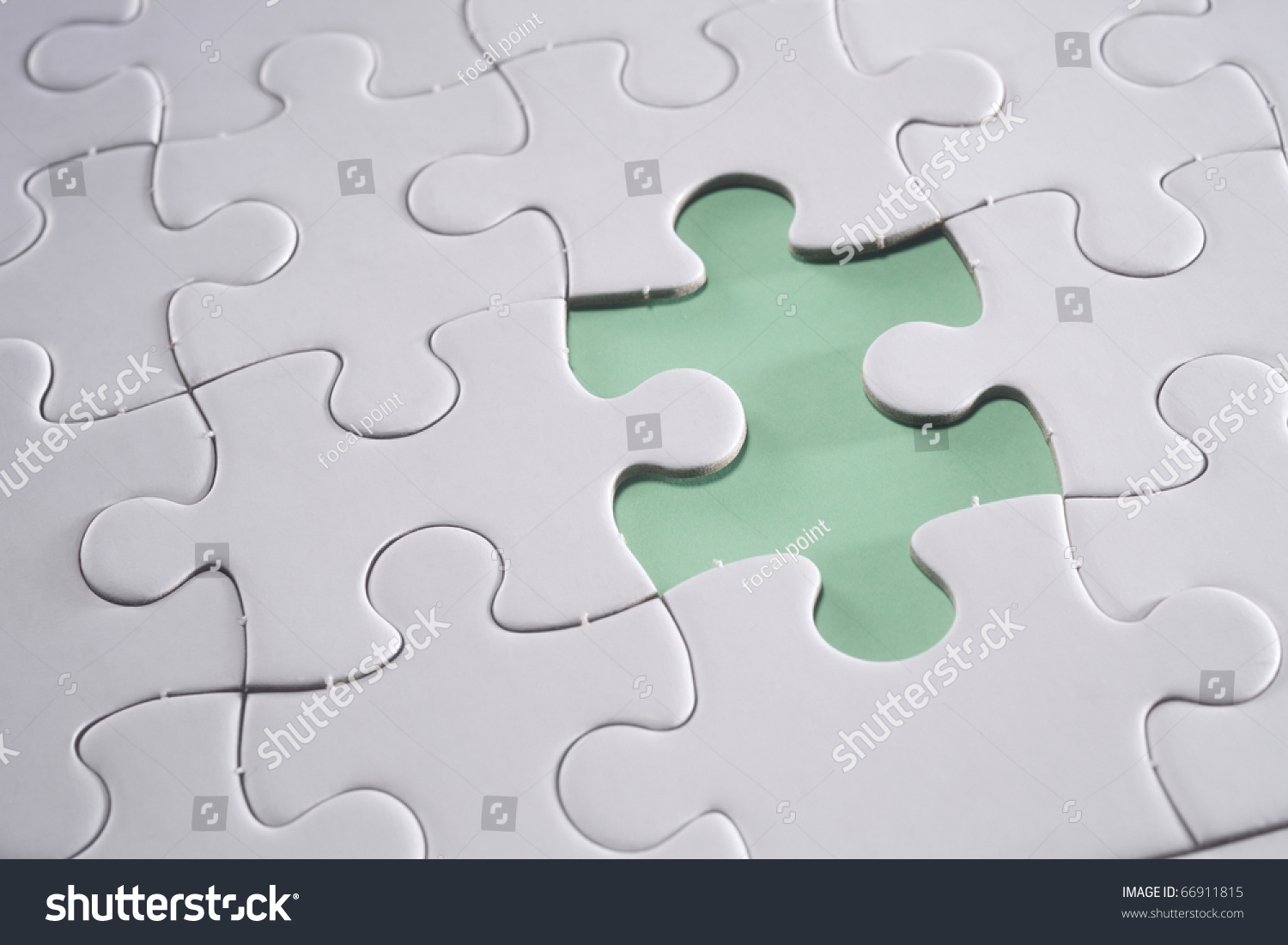 Piece missing from jigsaw puzzle | FinerWorks