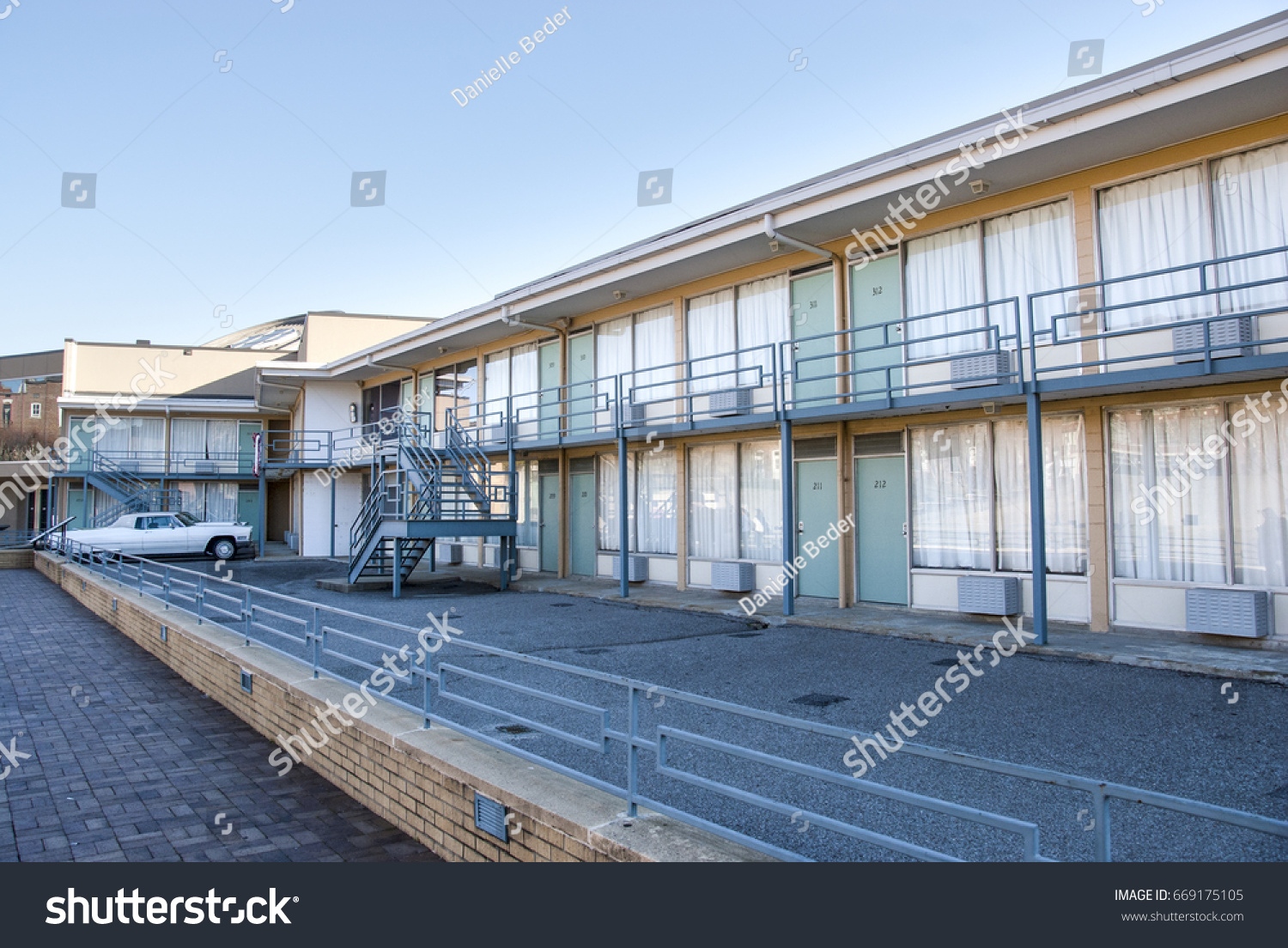 Lorraine Motel National Civil Rights Museum Stock Photo Edit Now