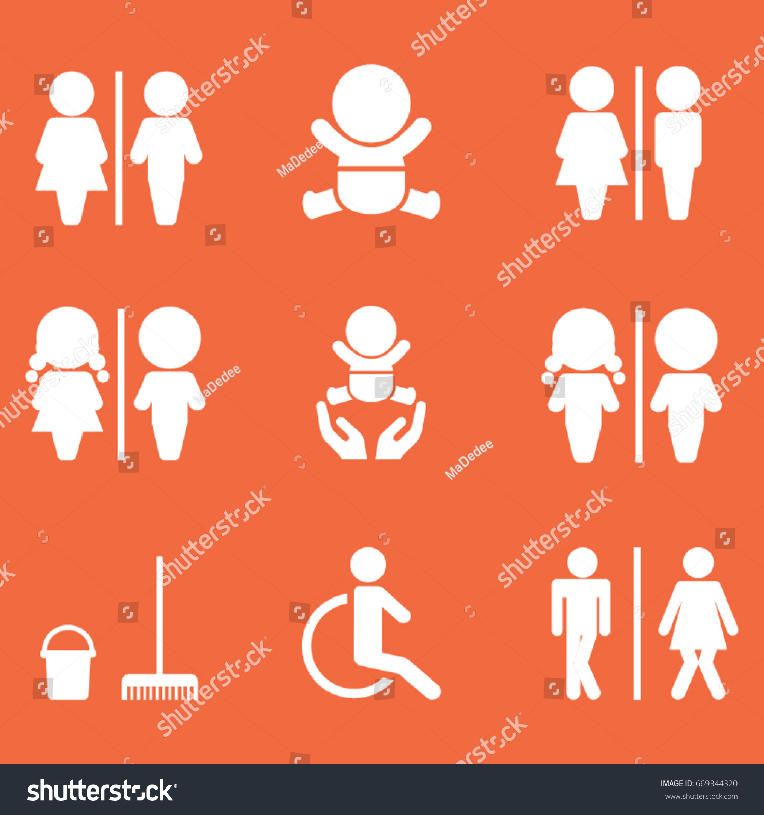 Toilet signs vector set stock images image 36323784 - Wc Icon Set Toilet Sign Stock Vector 669344320 Shutterstock Stock Vector Wc Icon Set Toilet Sign