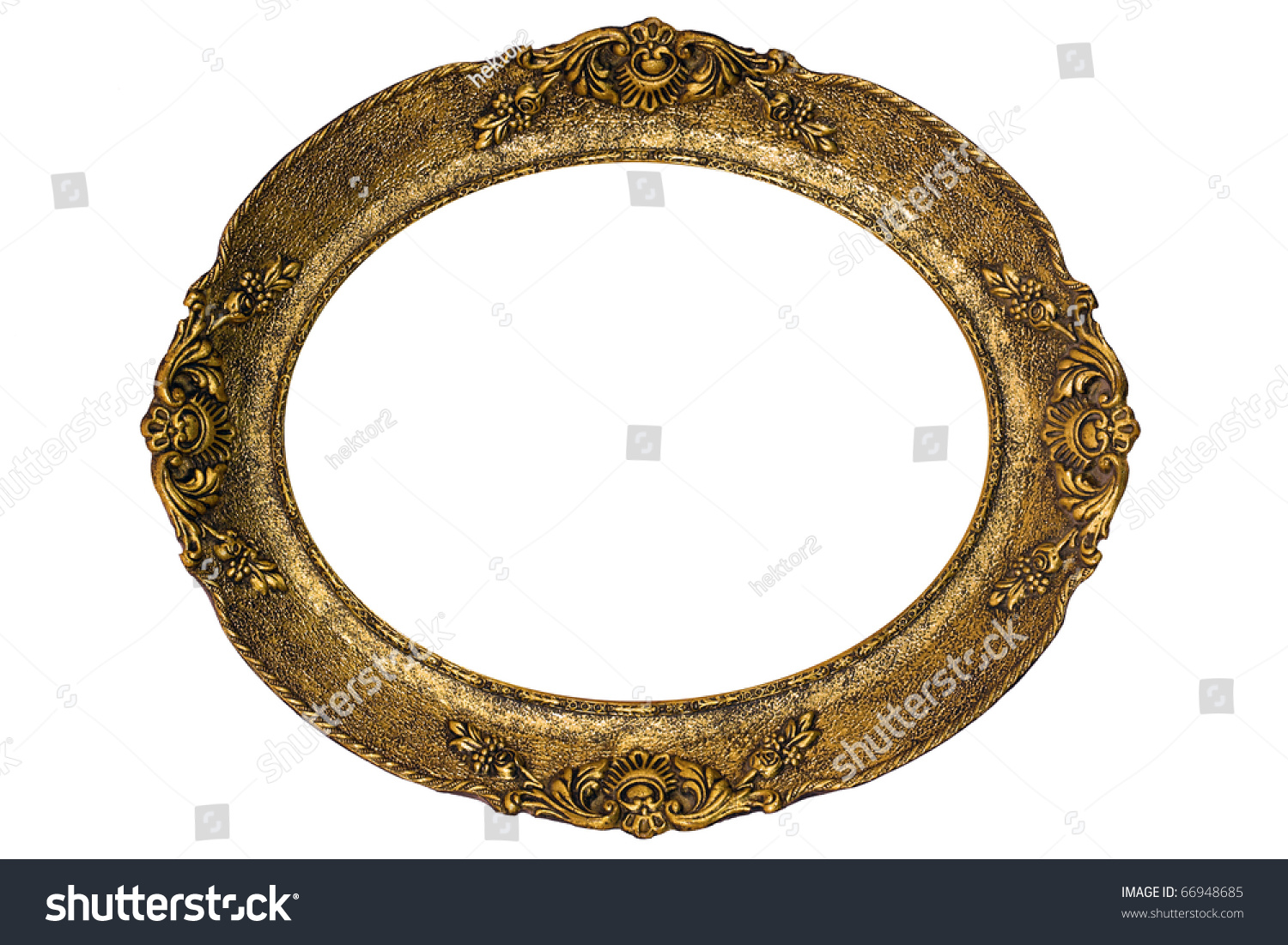 Massive Old Golden Frame High Resolution Stock Photo (Edit Now ...
