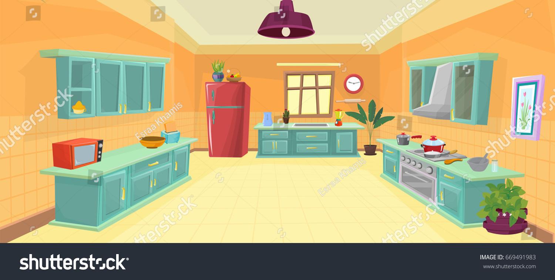 Kitchen Cartoon Picture - The Best Cart