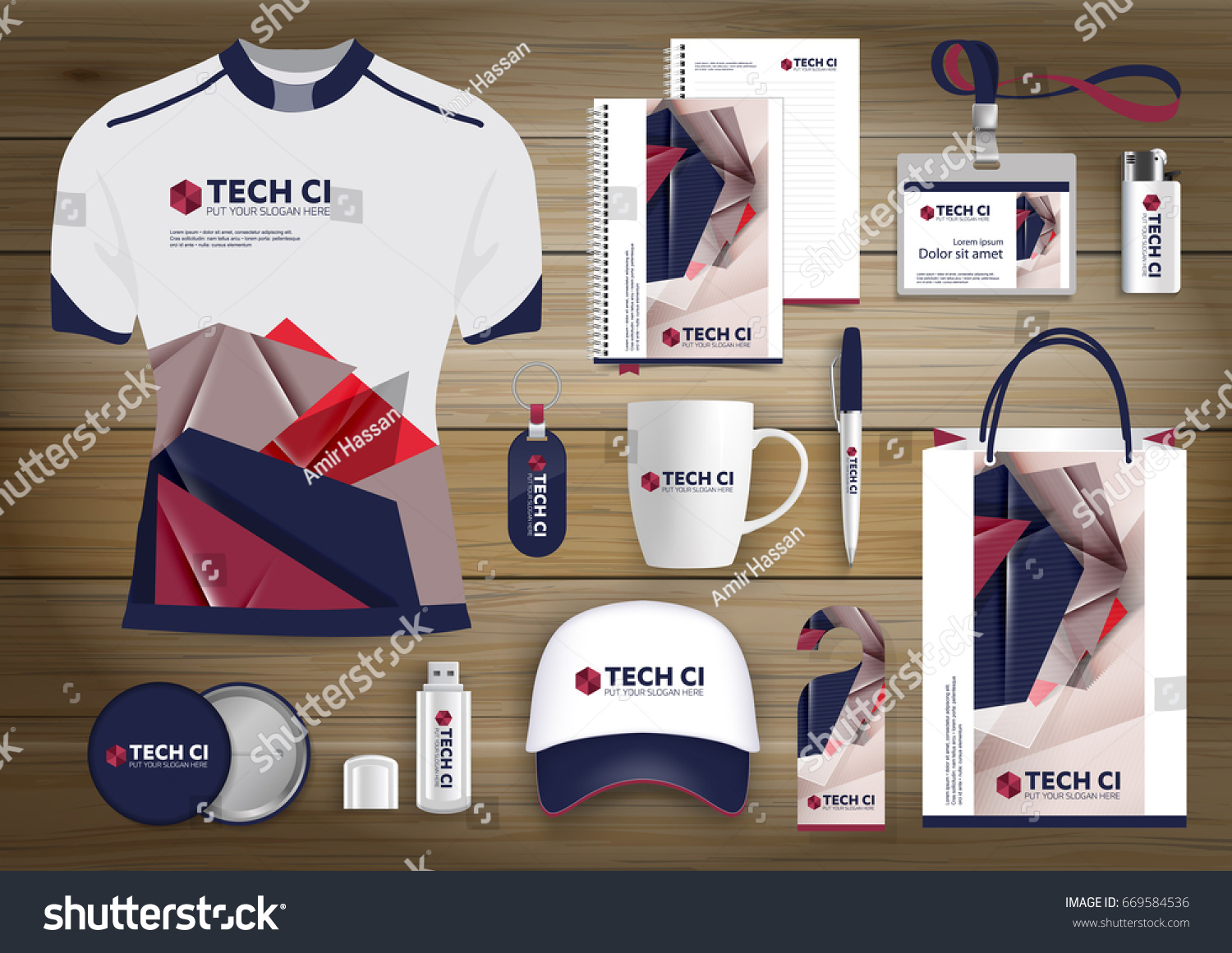 Gift items business corporate identity vector gift items business corporate identity vector abstract color promotional souvenirs design with origami elements for negle Image collections