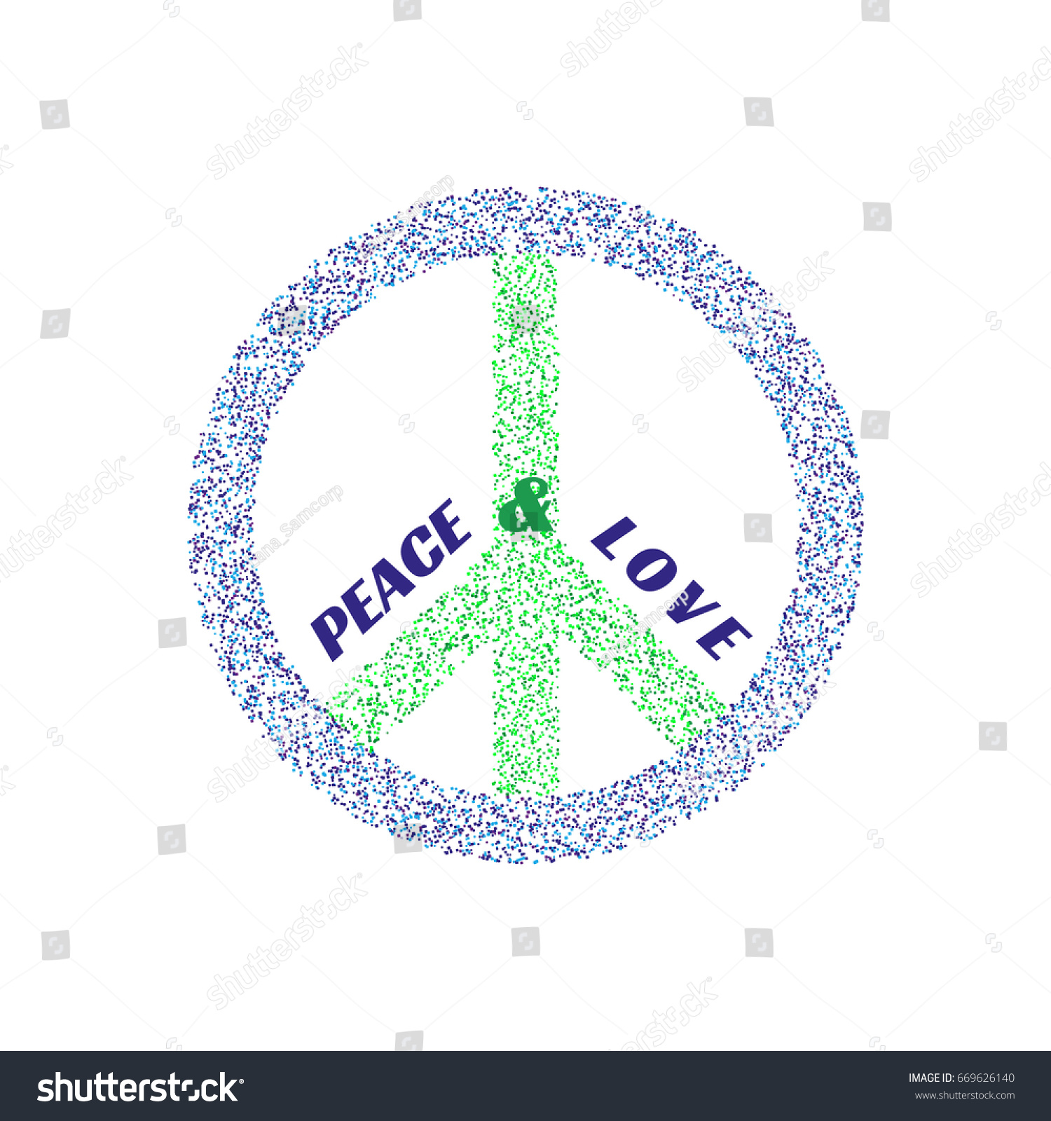Peace symbol pacifist logo freedom concept stock illustration peace symbol pacifist logo freedom concept antiwar international movement emblem social protest biocorpaavc