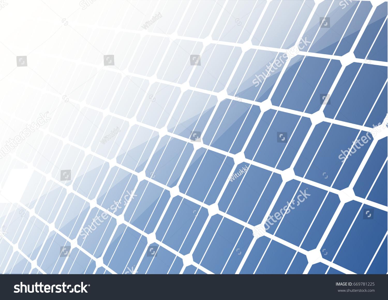 Solar Cell Background Wallpaper Presentation Texture 669781225