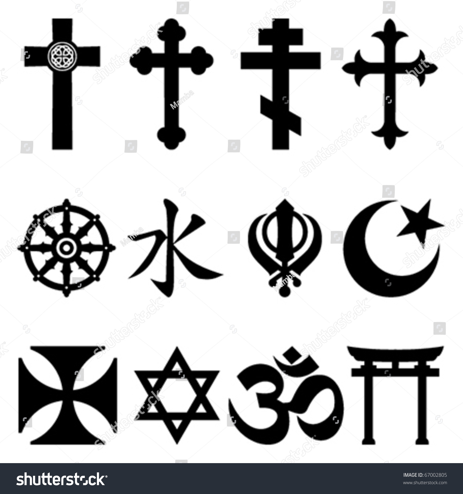 Royalty Free Religious Symbols 67002805 Stock Photo Avopix