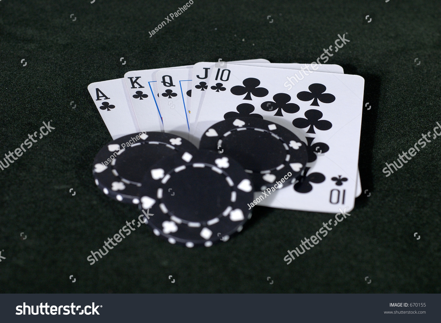 What is a black flush in poker