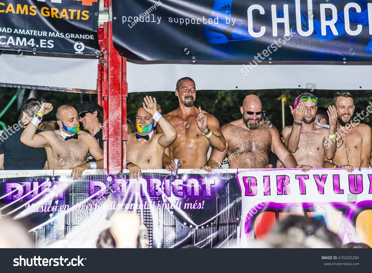 Cam4 Spain madrid spain july 1 2017 parade stock photo (edit now) 670205284