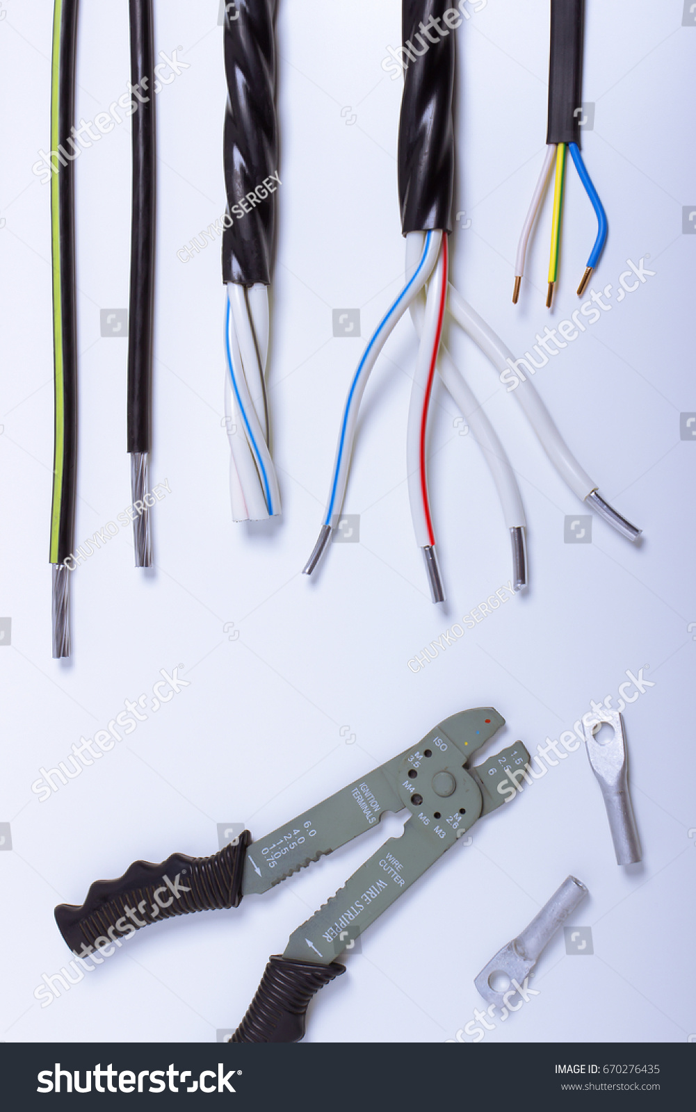 Swell Tools Cables Electrical Installation Stock Photo Edit Now Wiring 101 Photwellnesstrialsorg