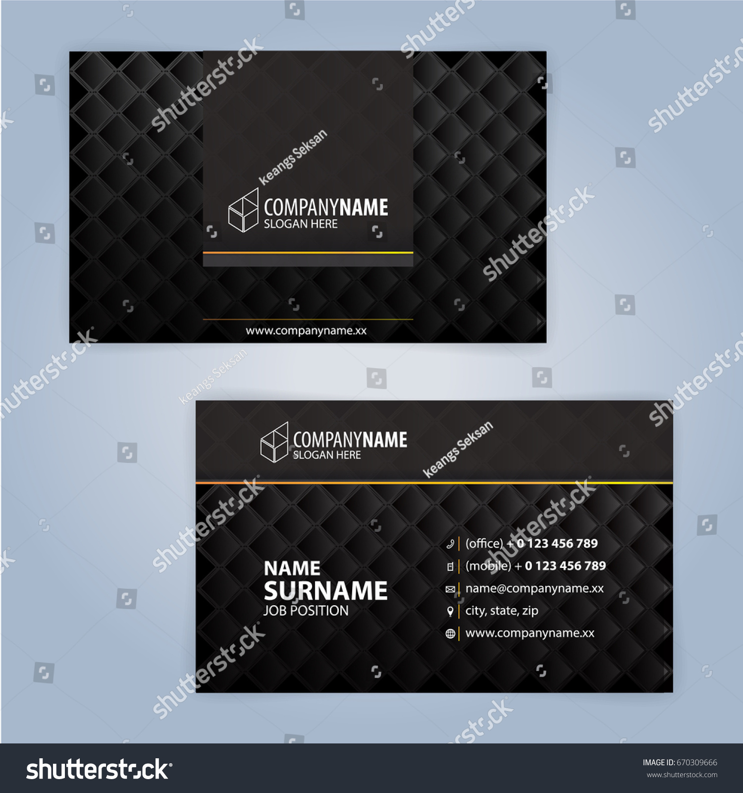 Business card design templates luxury graphic stock vector 2018 business card design templates luxury graphic design reheart Image collections